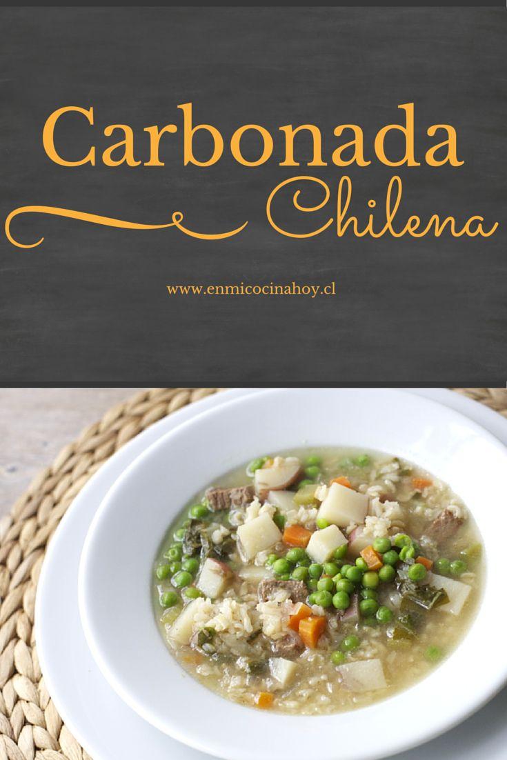 En su versión seca o en sopa la carbonada, es una receta chilena nutritiva y adaptable a las verduras que tengas en casa.