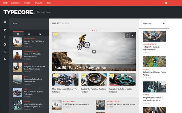 Typecore is a detailed and polished magazine WordPress theme with a premium taste. Positioned to the left of the screen, it gives a unique look with large social buttons. Some of the features of this beautiful theme include: Toggle fixed-width sidebars Featured story or slider Footer & header ads Related posts & post nav Boxed layout […]