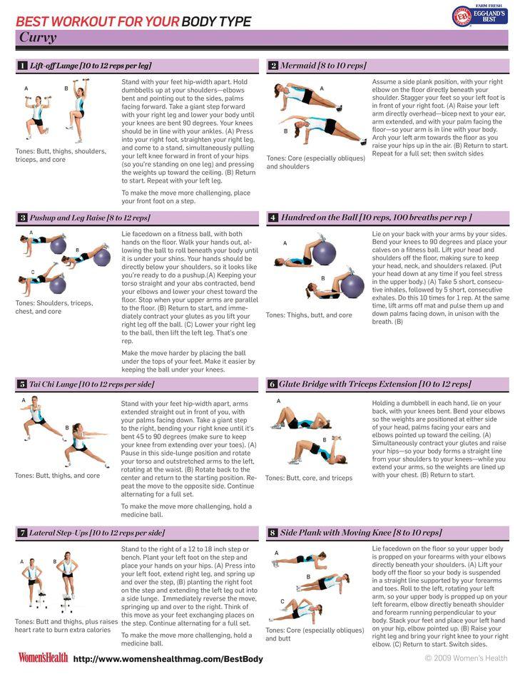 Curvy body workout plan page 2