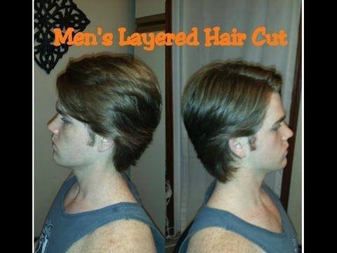 HOW TO CUT Mens Medium / Long Hair with Scissors // Hair Tutorial - YouTube