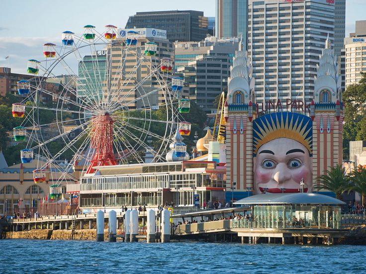 Rides may start at $10, but entry to Sydney's much-loved amusement park is completely free. This vintage attraction is located at Milsons Point, just under the northern end of the Harbour Bridge. Its colorful attractions are a photographer