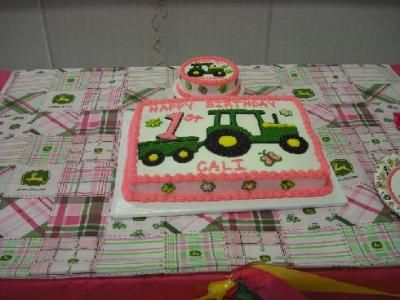 john deere 1st birthday pink | John Deere Pink 1st Birthday Party Supplies, 72099
