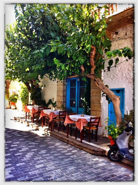 greek taverna in Agios Nikolaos, Crete