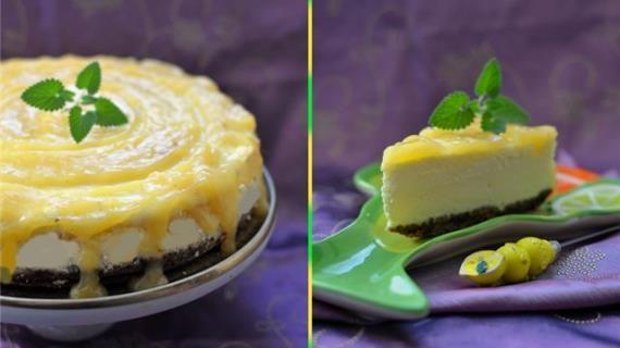 Лимонный чизкейк. Пошаговый рецепт с фото на Gastronom.ru