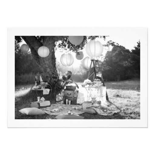 PARTY-PARTY OUTDOORS EVENT INVITATION | Zazzle.com