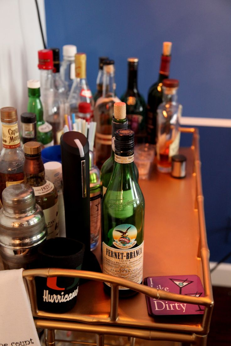 No Apartment is complete without a fully stocked bar!