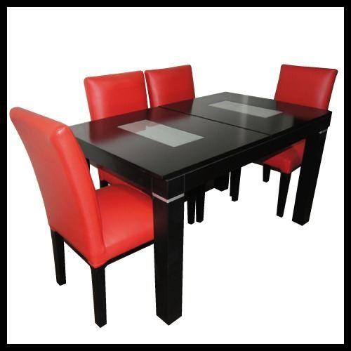 Mesa extensible guatambu m 4 sillas for Sillas para desayunador