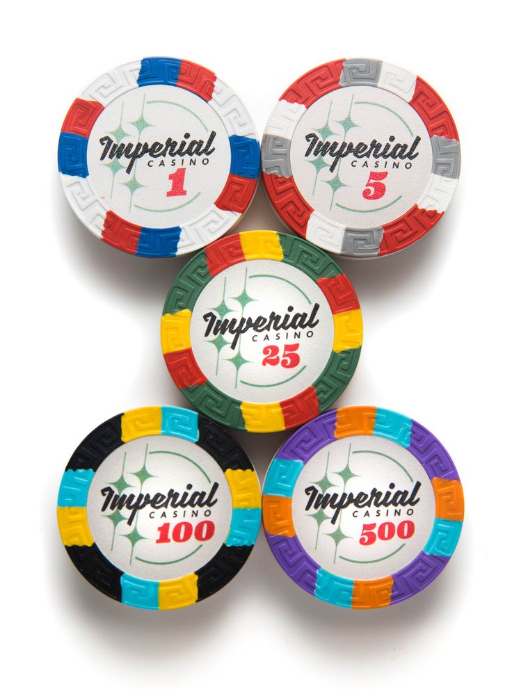 Brand new and exclusive Imperial Casino poker chips only available at Casino Supply!