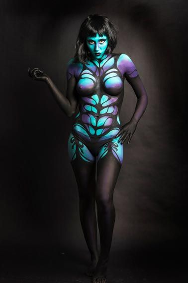 Best Amazing Face And Body Art Images On Pinterest Makeup - Amazing body art transforms people animals human organs