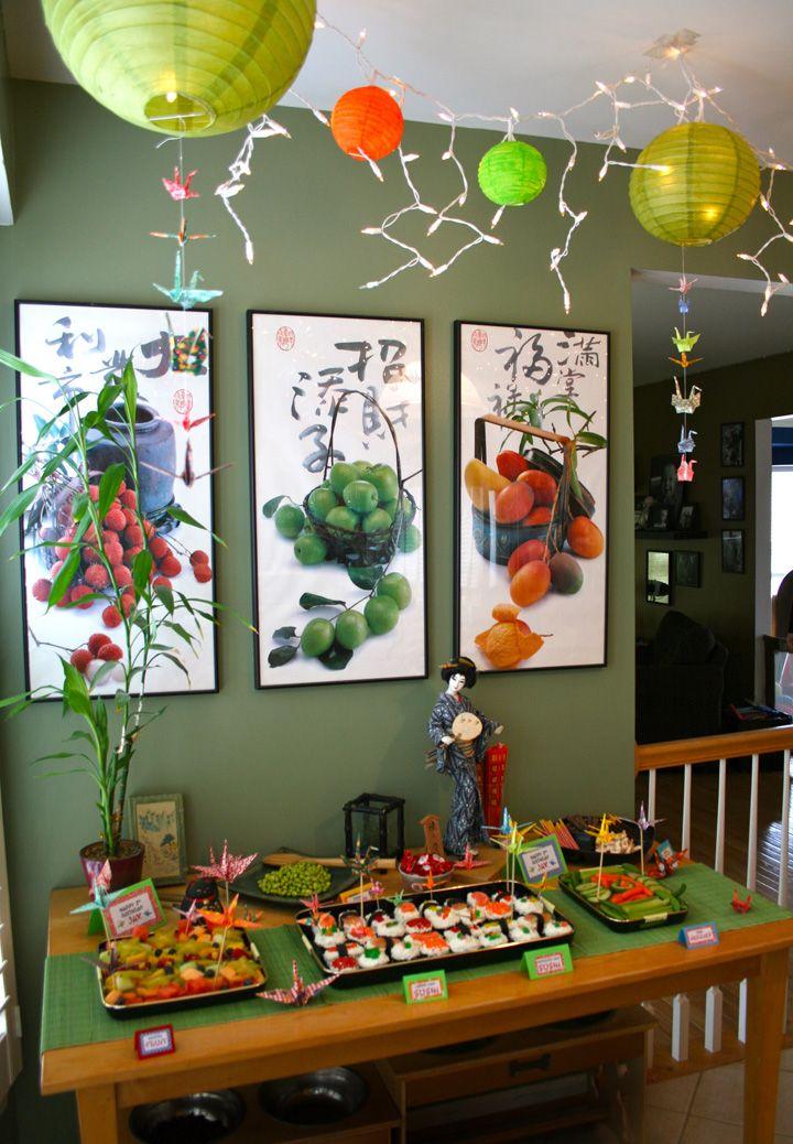 Jackson's 2nd Birthday – Sushi Party