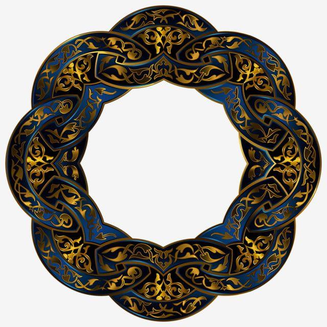 فخم ترف مثمن المثمن تصميم ثماني الإطار إطار الحدود إطار من الذهب إطار خمر إطار الأزهار إطار دائري الإطار Ornament Frame Gold Circle Frames Frame Border Design
