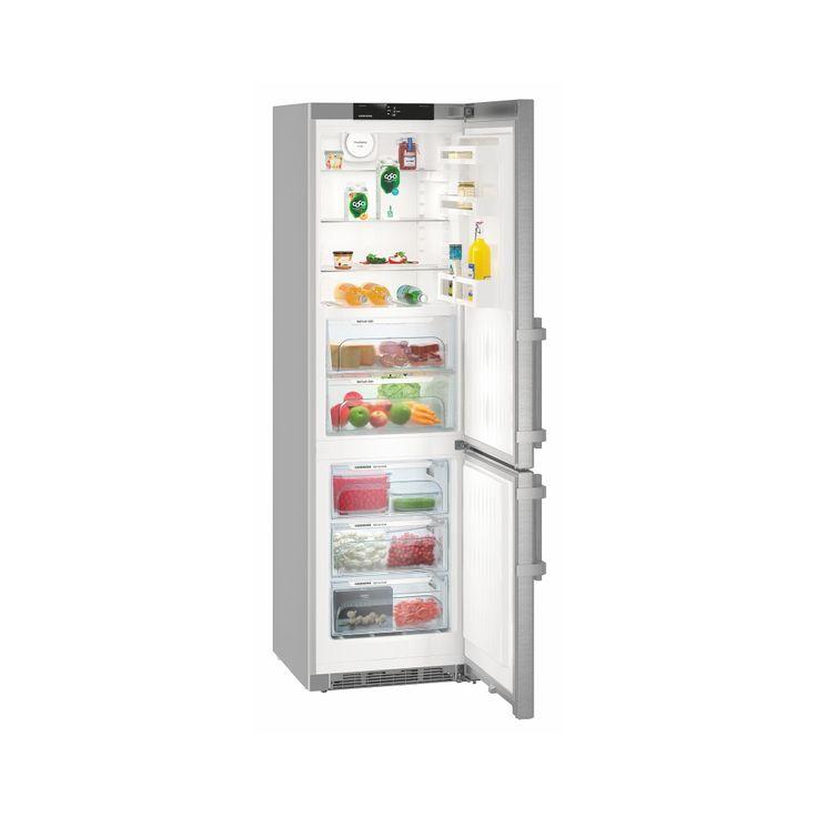 LIEBHERR CBNef 4815  -  BluPerformance, Comfort, A+++ , objem chladničky 148 l., BioFresh 94 l., objem mrazničky 101 l. NoFrost **** 3 zásuvky, ventilátor, přední dveře SmartSteel.
