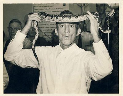 accidental mysteries: The Snake Handlers of Harlan, KY