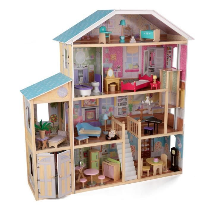 die besten 25 kidkraft puppenhaus ideen auf pinterest barbie haus holz billy regal. Black Bedroom Furniture Sets. Home Design Ideas