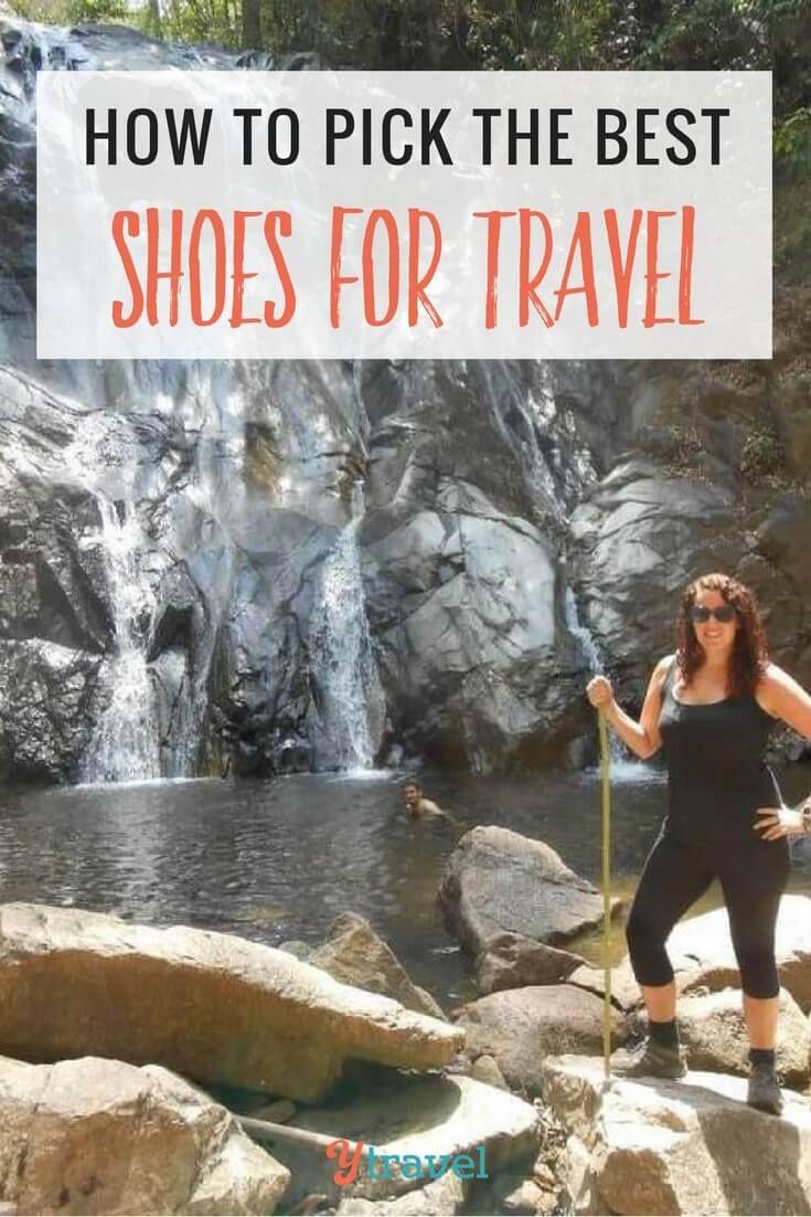 The Best Shoes for Travel – Tips From a Podiatrist. Taking care of your feet is important when traveling. Here are tips from a podiatrist for how to choose the best shoes for travel so your feet won't hurt.