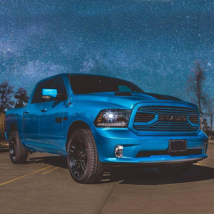 Special Edition 2018 Hydro Blue Ram Sport 1500 VIP Autos