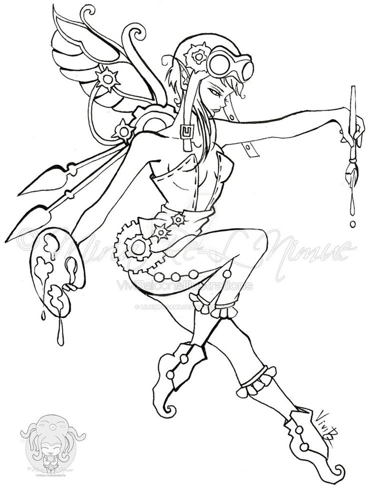 line drawing coloring pages - photo#5