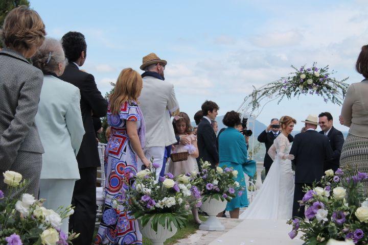 Matrimonio outdoor cerimonia simbolica