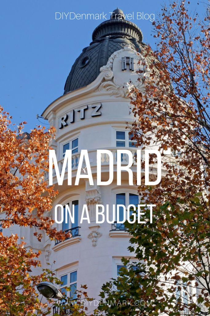 Travel to Madrid on a Luxury Budget | DIYDenmark Travel Blog #travel #travelblogger #cheaptravel #madrid #wedding