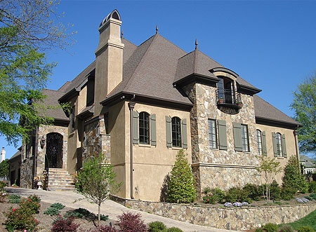 French Stone And Stucco Dream Home Pinterest House