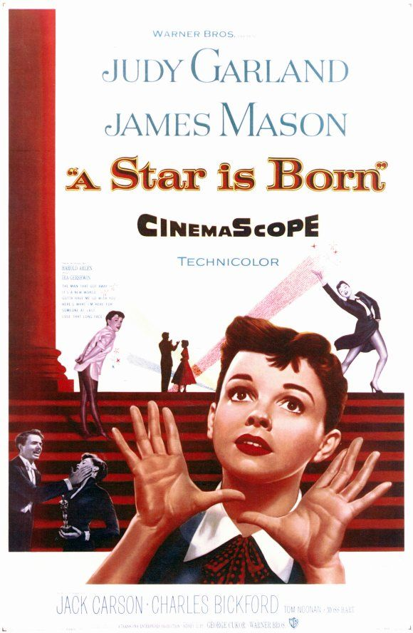 Number 7 on the AFI List of Best Movie Musicals - A Star is Born starring Judy Garland