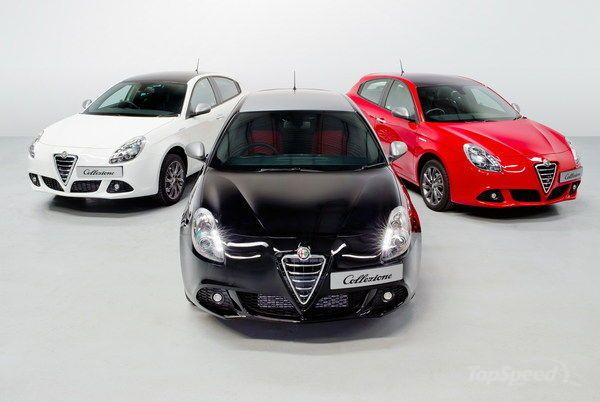 2013 Alfa Romeo Giulietta Collezione Limited Edition