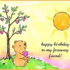 Happy Birthday A Friend