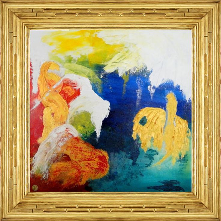 """""""The artworks of Ron Labryzz communicate with the viewer poetic, charming and magical. The underscores result the dance of colors and transfer the viewer in an endless bright world. This brin…"""