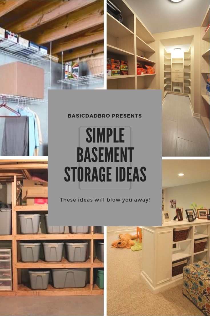 39++ Finished basement storage ideas trends