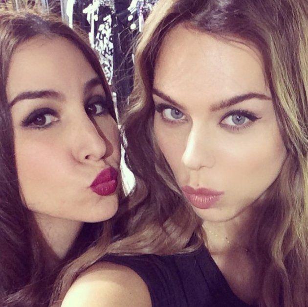 """Pin for Later: """"Sag' Cheese!"""" Die besten Selfies der Stars Sila Sahin und Liliana Quelle: Instagram liliananova"""