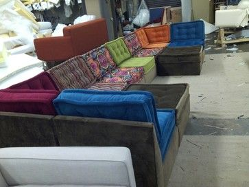 Multiple Piece Sectional eclectic sectional sofas