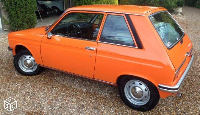 peugeot 104 zs orange 1124 cm3 voitures loir et cher peugeot pinterest. Black Bedroom Furniture Sets. Home Design Ideas