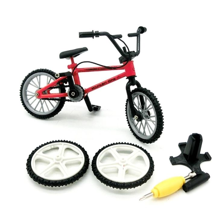 1.83$  Buy here - 1 PC Alloy mini Finger Mountain Bikes BMX Fixie Bicycle Boy Toy Creative Game Gift Color Randmonly   #buymethat