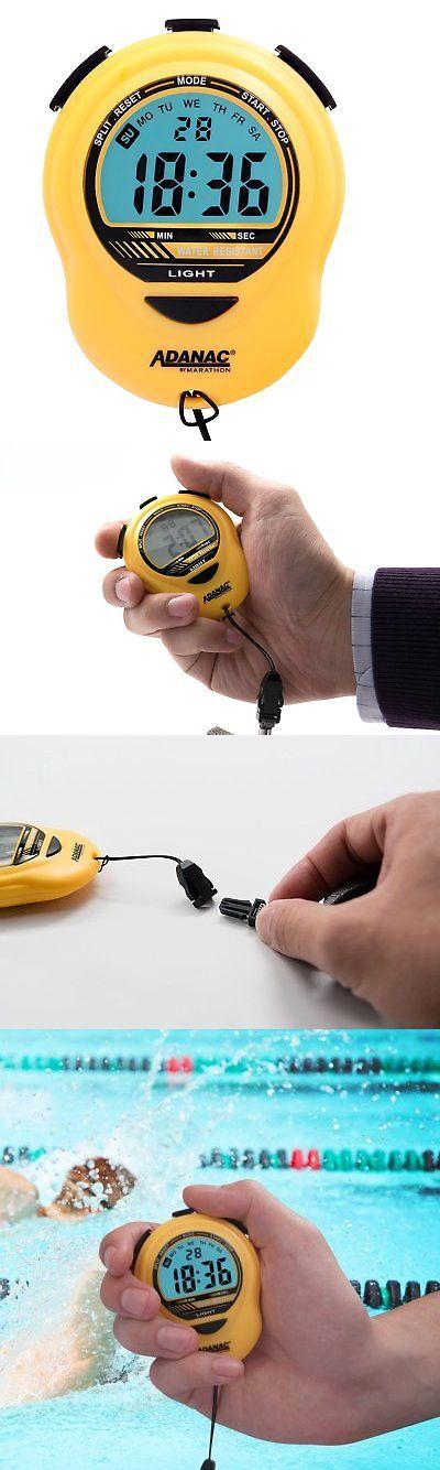 Stopwatches 166149: Marathon St083013ye Adanac Digital Glow Stopwatch Timer With Extra Large Display -> BUY IT NOW ONLY: $30.85 on eBay!