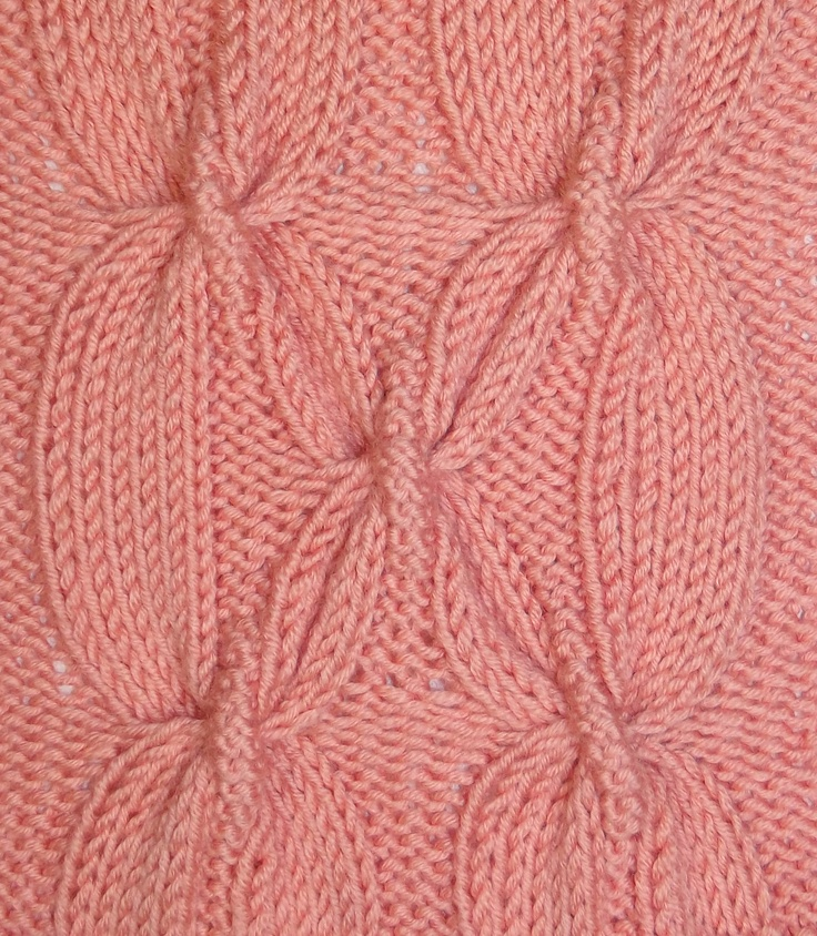An impressive, large cable pattern, sure to get noticed.  Find it in the Cable & Twisted Stitches category.