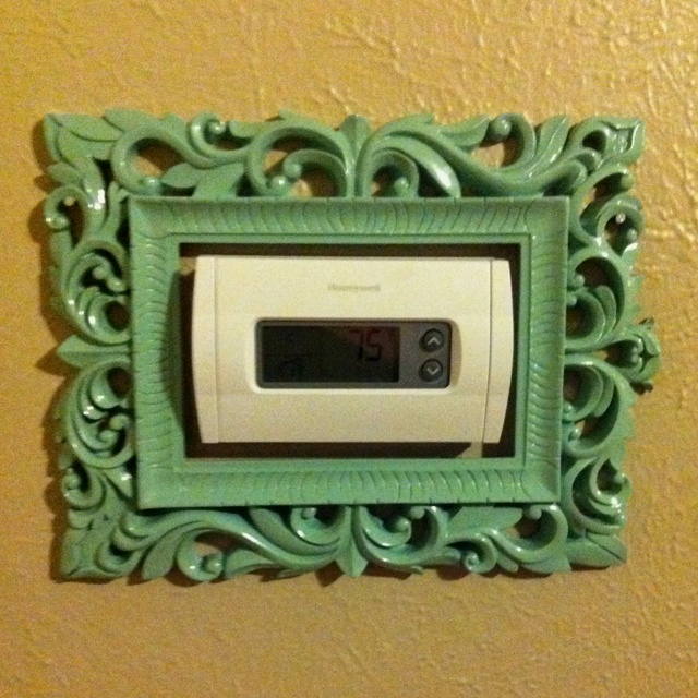 Trying to classy the place up!: Good Ideas, Color, Cute Ideas, Thermostat Decor, Cool Ideas, Wonder Ideas