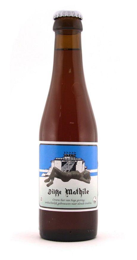 Dikke-Mathile, Ale 6% ABV (Brouwerij Strubbe, Bélgica) [Micromalta]