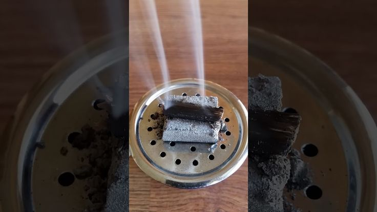 Burning Cultivated Agarwood Incense