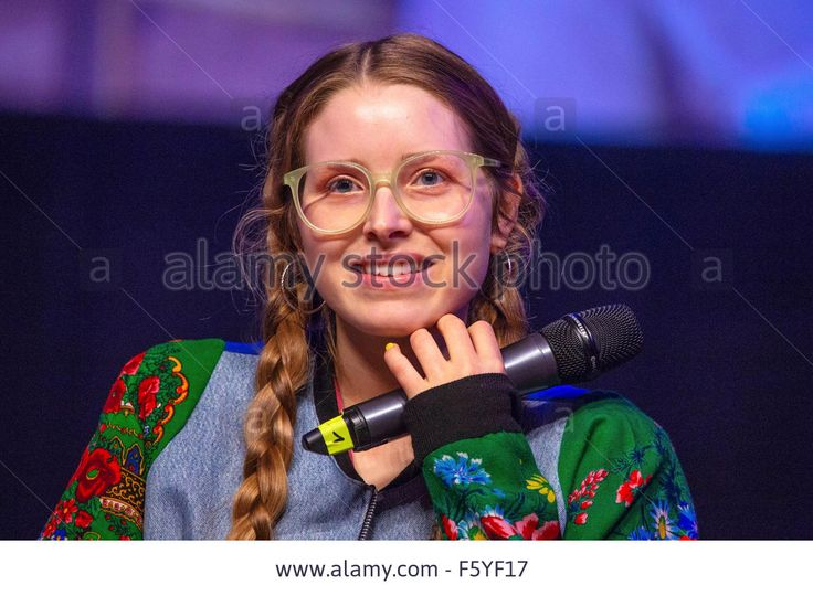 Jessie Cave at the RingCon 2015 at Maritim Hotel. Bonn, Germany 06.11.2015/picture alliance Stock Photo