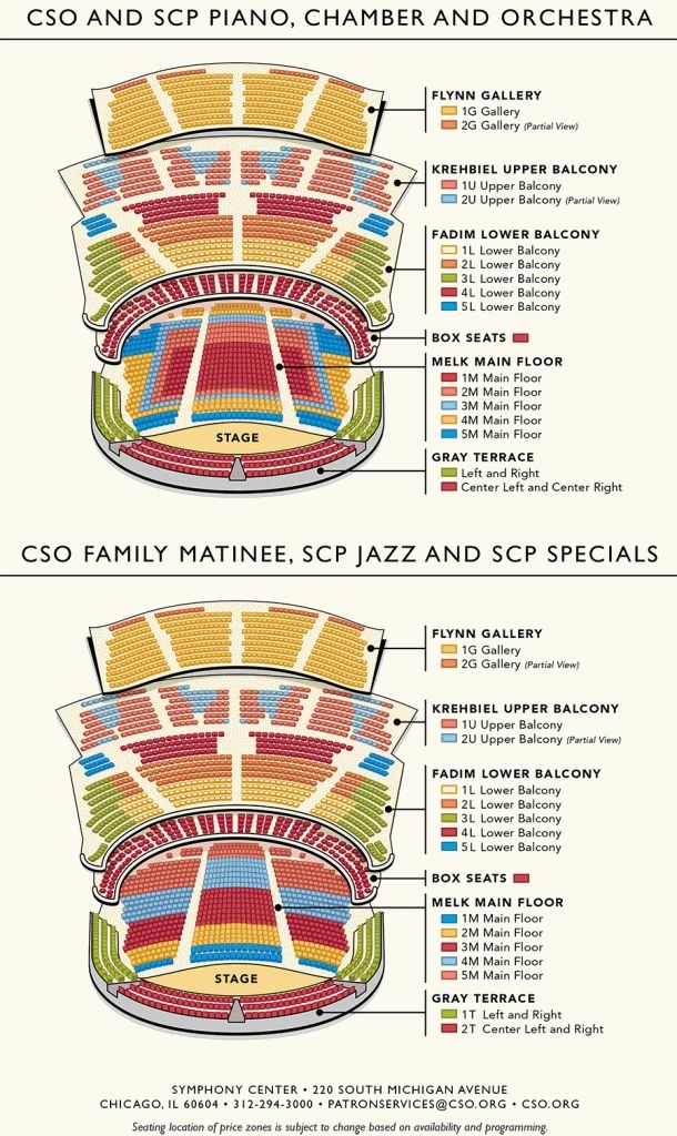 The Most Incredible Overture Center Seating Chart In 2020 Chicago Symphony Orchestra Seating Charts Seating Plan