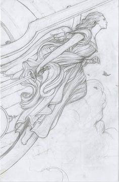ship figurehead drawing - Google Search
