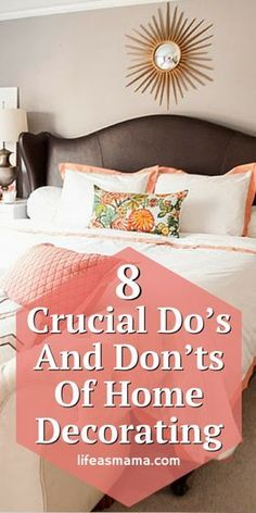 There are so many mistakes that can be made that can make your home look weird, awkward, and small. Its actually a lot more simple than you think and when you know what the dos and donts are of home decorating youll easily be able to make your home lo