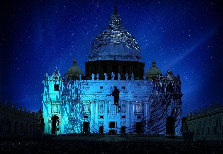 Giubileo, con Fiat Lux show di immagini sul Cupolone - Pagina ...