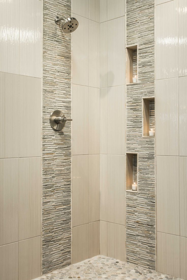 Simple Home And Apartment Interior Design With Images Bathroom Remodel Shower Modern Shower Design Patterned Bathroom Tiles