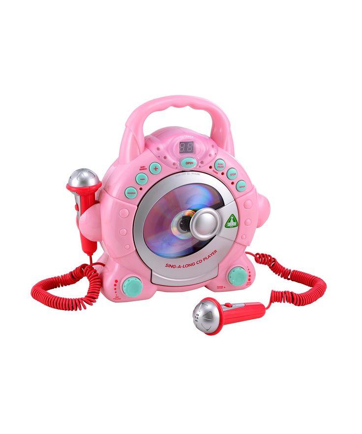 Sing Along CD Player - Pink