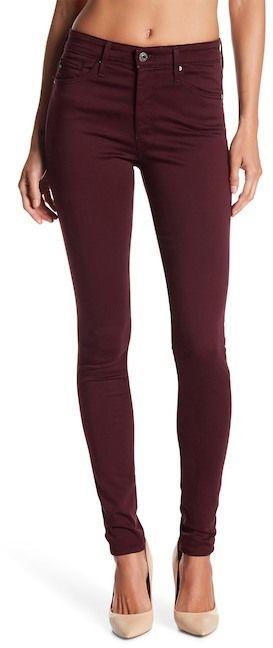 AG Jeans Farrah Faux Leather Pants
