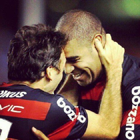 Pet e Adriano #Flamengo