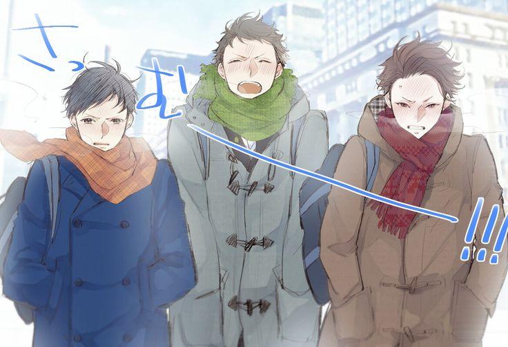 Jitsui, Kaminaga, and Miyoshi    Joker Game