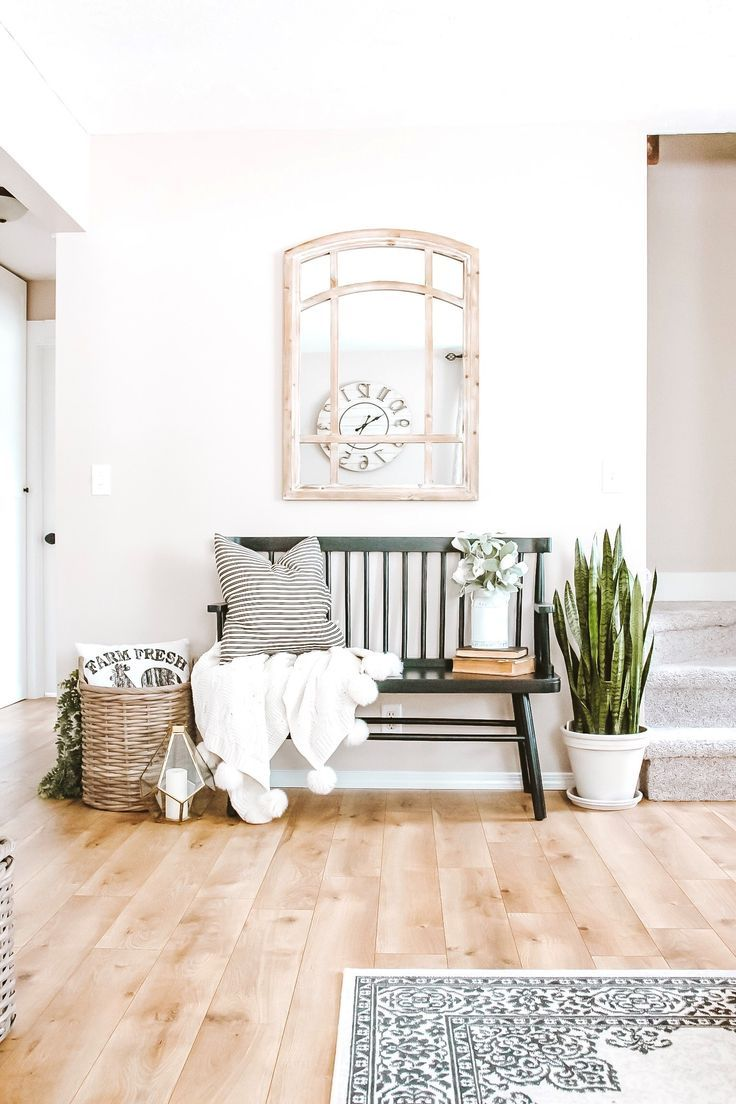 Make a statement with your entryway decor by styling your