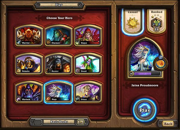 Creative use of hearthstone cluster analysis